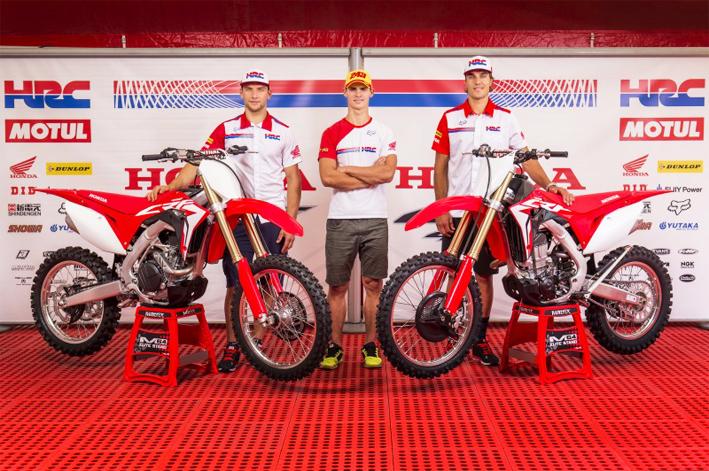 Scopri le nuove Honda CRF450R e CRF450RX