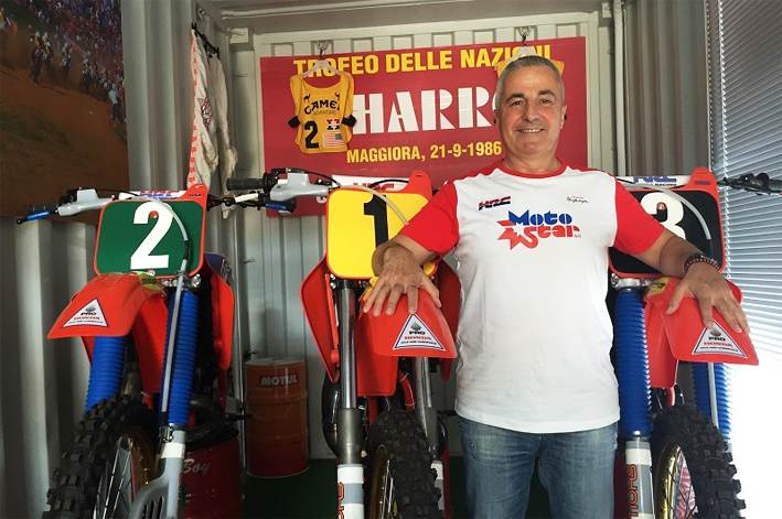 Honda HRC del TeamUSA | Uno dei primi esemplari ordinati da Adriano Narducci presso Motostar Milano