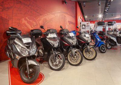 Showroom Certosa, da noi trovi gli scooter più ambiti