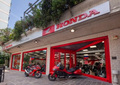 Ingresso Honda Motostar Viale Caterina da Forli Milano