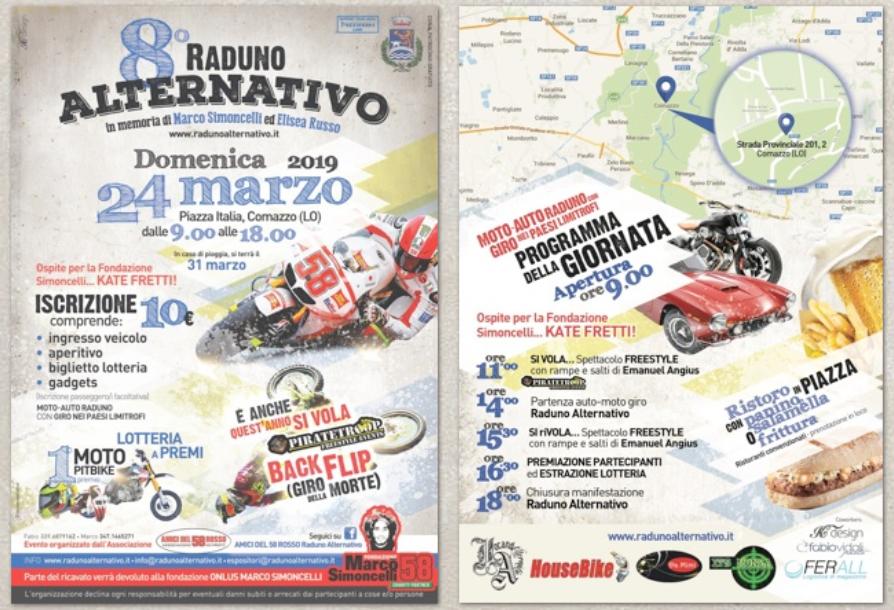 Motostar ti aspetta all'8° Raduno Alternativo a Comazzo domenica 24 marzo