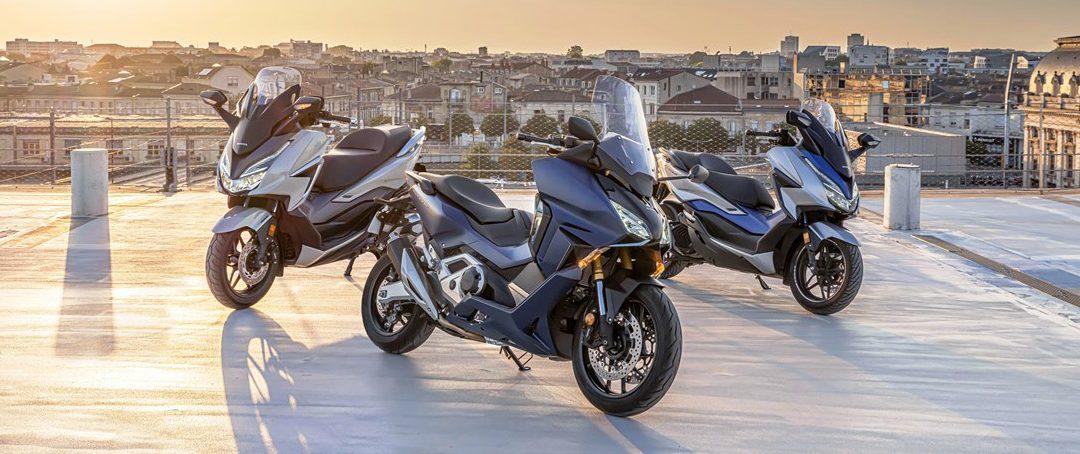 Nuova Gamma Honda Forza 2021! Arrivano anche il 750 cc e il 350 cc